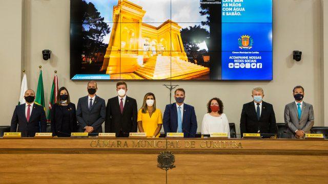 Vereadora do PSL é eleita primeira secretária em Curitiba